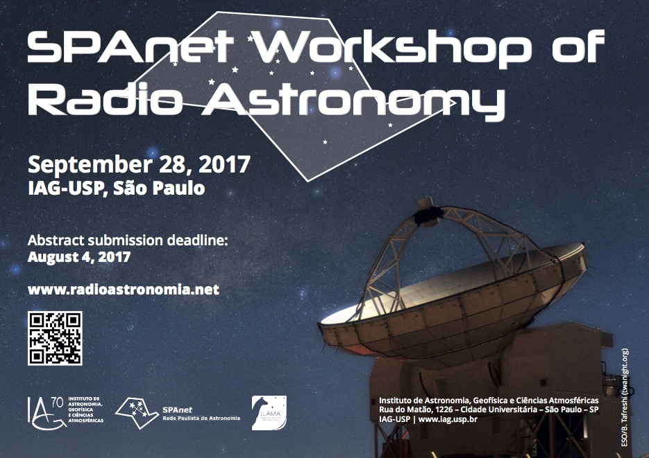 Poster | SPAnet Radio Astronomy Workshop